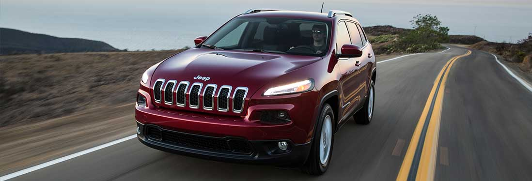 2016 Jeep Cherokee Exterior Side